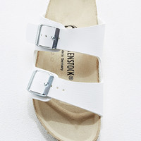 Birkenstock Arizona Birko Leather Sandals in White - Urban Outfitters