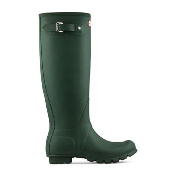 Hunter Original Tall Rain Boots Women's - Green