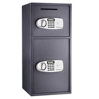 Double Door Digital Depository Safe Cash Drop Safe Security-Paragon Lock & Safe