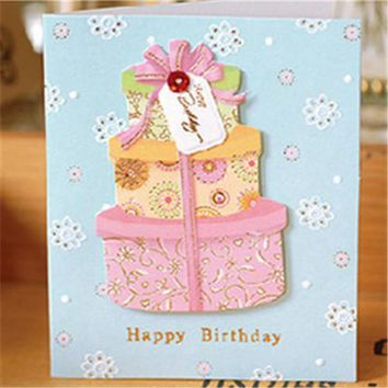 24 Assorted Happy Birthday Greeting Cards with Envelopes,Romantic Message Card CH5041927
