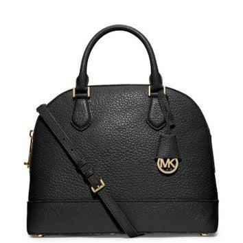 Smythe Large Pebbled-Leather Satchel | Michael Kors