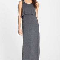 Women's Betsey Johnson Popover Jersey Maxi Dress,