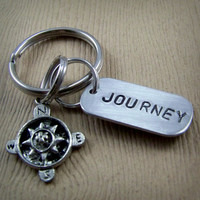 Journey - Compass Keychain