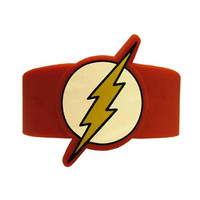 The Flash Rubber Wristband Bracelet