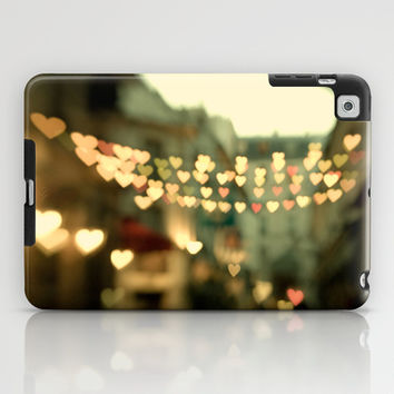 Looking for Love - Paris Hearts iPad Case by Eye Poetry