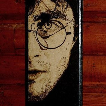 Harry Potter art - woodburned home decoraion
