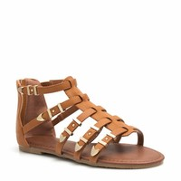 Caged Buckle Harness Sandals