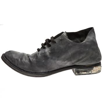 A DICIANNOVEVENTITRE - Distressed Leather Oxford - S13 A1/LAMA SKY - H. Lorenzo