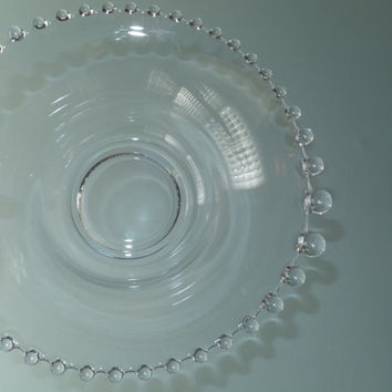 Candlewick Glass Bowl - Vegetable Dish, Salad Bowl,  Excellent Condition, Collectible Glass, Wedding Gift, Housewarming, Home Decor