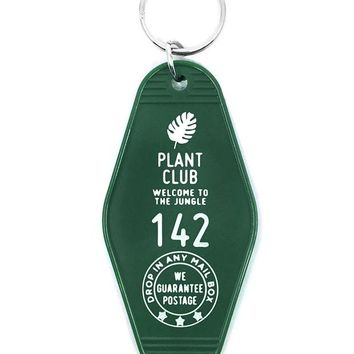 Plant Club Key Tag Keychain
