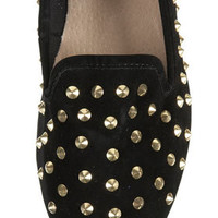 VECTRA5 Gold Studded Slippers