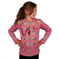 The Beatles - Sgt. Pepper Uniform Pink Premium Youth Long Sleeve