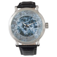 Snowfall Winter Christmas Tree Wrist Watch