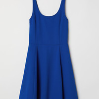Jersey Dress - Cornflower blue - Ladies | H&M US