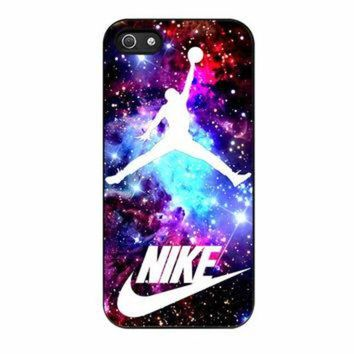 DCKL9 Jordan Nebula Galaxy Nike iPhone 5 Case