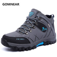 New Arrival BIg Size Winter Men Watewproof hiking shoes Outdoor antiskid Trend Trekking shoes Breathable Antiskid hunting shoes