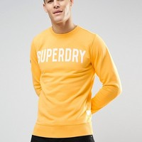 Superdry Sweatshirt with Graphic at asos.com