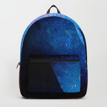 wrapping paper Backpack by Jessica Ivy