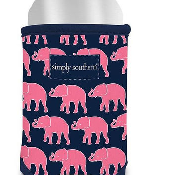 "Simply Southern ""Elephant"" Drink Huggie"