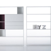 Minima 3.0 Bookcase White by MDF Italia
