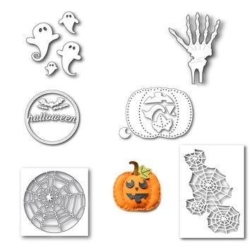 Swovo Halloween Pumpkin Metal Steel Cutting Dies for Scrapbooking Embossing Dies Crafts Cut Stencils for DIY Decorative Cards