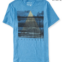 Mens Free State Wild Cali Graphic T-Shirt