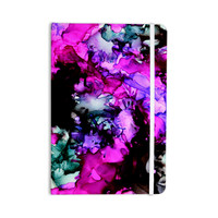 """Claire Day """"Siren"""" Pink Purple Everything Notebook"""