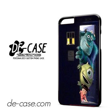 Sully Mike and Boo In The Tardis Monsters Inc DEAL-10236 Apple Phonecase Cover For Iphone 6/ 6S Plus