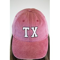 Texas Retro Hat - Red