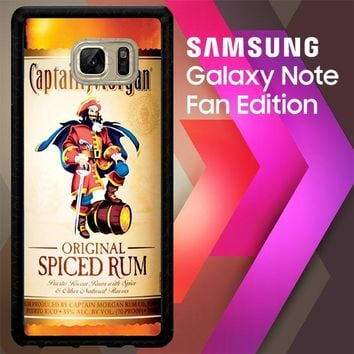 Captain Morgan Original Spiced Rum L2150 Samsung Galaxy Note FE Fan Edition Case