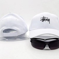 Stussy Women Men Embroidery Baseball Cap Hat Sports Sun Hat Cap-6