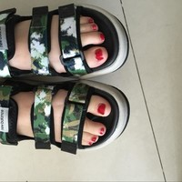 spbest New Balance Caravan Multi Sandals Green Camouflage