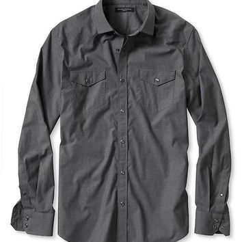 Banana Republic Slim Fit Western Shirt