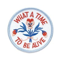 What A Time To Be Alive Patch (Limited Edition)