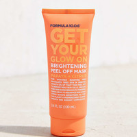 Formula 10.0.6 Get Your Glow On Brightening Peel Off Mask - Urban Outfitters