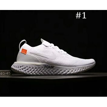 Nike Odyssey React & OFF-WHITE Joint Series Ultra Light Breathable cushioning running shoes F-A0-HXYDXPF #1