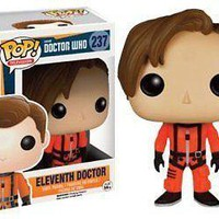 Funko Pop TV: Doctor Who Dr #11 Orange Spacesuit Exclusive Vinyl Figure