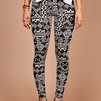 Tribal Mix Leggings | Trendy Leggings at Pink Ice
