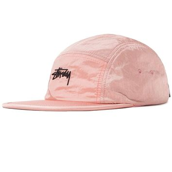 Stock Camp Cap in Pink