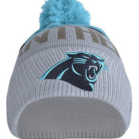 Slimio® Carolina Panthers 3D Warm Thick Cuffed Knit Pom Beanie - Pattern#02 OneSize