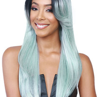 Bobbi Boss MLF 120 Perry Synthetic Lace Front Wig