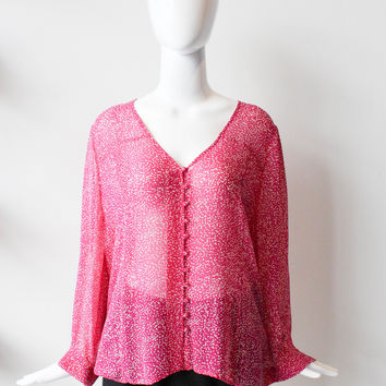 Joie Pink Blouse