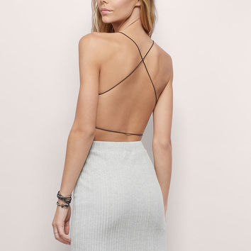 Crisandra Open Back Top