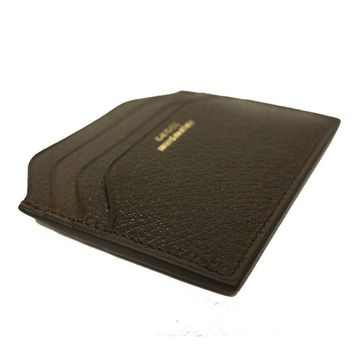 Gucci 'Made in Italy' Pigskin Leather Card Case 322107, Brown