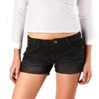 Jessie G. Women's Low Rise Embellished Denim Short Shorts