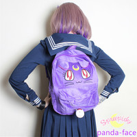 Sailor Moon Luna Fluffy Plush Backpack SP130267