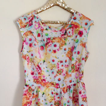 Lovely Little Floral Top