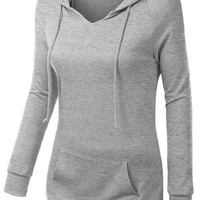 Cupshe After Party Hooded Sweatshirt