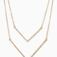 Double V Necklace | Fashion Jewelry | charming charlie