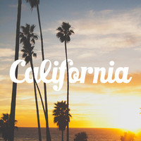 California Beach Art Print by Thecrazythewzrd